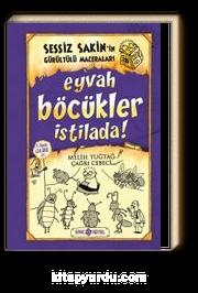 Eyvah Böcükler İstilada / Sessiz Sakin'in Gürültülü Maceraları 8 (Ciltli)