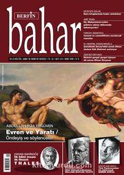 Berfin Bahar Aylık Kültür Sanat ve Edebiyat Dergisi Mart 2018 Sayı: 241