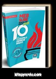 2018 Milli Eğitim Bakanlığı Şube Müdürlüğü 10 Çözümlü Deneme Sınavı