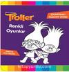 Troller Renkli Oyunlar Çıkartmalı Faaliyet Kitabı