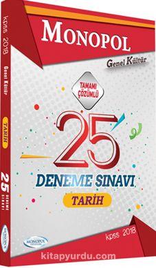 2018 KPSS Genel Kültür Tarih 25 Deneme Sınavı Tamamı Çözümlü - Kollektif pdf epub