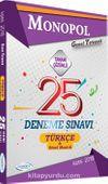 2018 KPSS Genel Yetenek Türkçe Tamamı Çözümlü 25 Deneme Sınavı