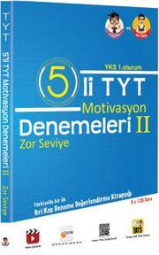 5'li TYT Motivasyon Denemeleri 2 Zor  Seviye