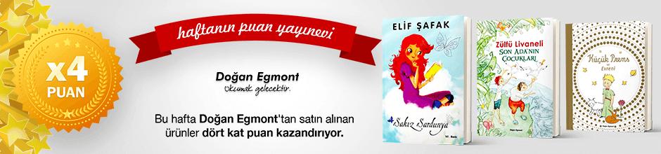 Doğan Egmont Çocuk Kitapları'ndan 4 kat Ekstra Puan Kampanyası