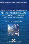 Kitabü't-Tercüman An Garibi'l Kur'an / Adlı Eserinin Tahkik ve Ta'likı