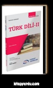 Türk Dili II Bahar Dönemi Bütün Bölümlere Yönelik (9010)