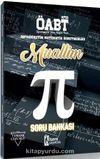 ÖABT Muallim Ortaöğretim Matematik Öğretmenliği Tamamı Çözümlü Soru Bankası