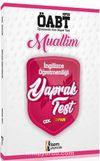 ÖABT Muallim İngilizce Öğretmenliği Yaprak Test
