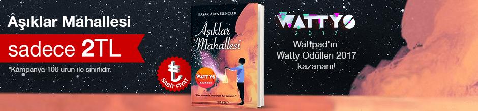 Fırsat ilk 100 kitap 2TL - Başak Arya Gençler  - Aşıklar Mahallesi