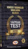 2018 Komiser Yardımcılığı Sınavlarına Hazırlık Yaprak Test