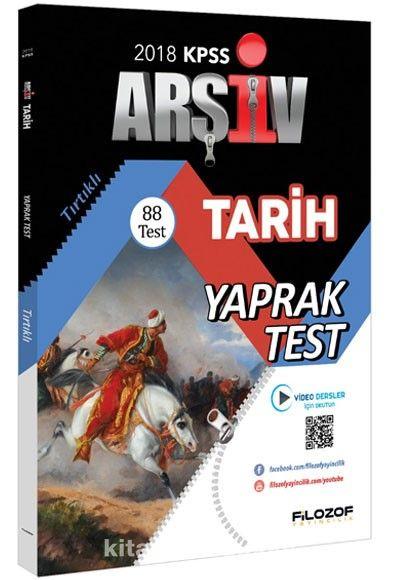 2018 KPSS Tarih Çek Kopar 88 Yaprak Test Video Destekli - Kollektif pdf epub