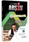 2018 KPSS Matematik Çek Kopar 120 Yaprak Test Video Destekli