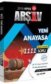 2018 KPSS Arşiv Yeni Anayasa Tamamı Çözümlü 1111 Soru Bankası