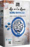 2018 KPSS Lise Ön Lisans Video Destekli Tek Hedef Soru Bankası