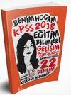 2018 KPSS Eğitim Bilimleri Gelişim Psikolojisi Tamamı Çözümlü 22 Deneme