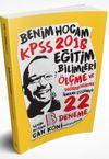 2018 KPSS Eğitim Bilimleri Ölçme ve Değerlendirme Tamamı Çözümlü 22 Deneme