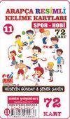 Arapça Resimli Kelime Kartları 11 / Spor - Hobi