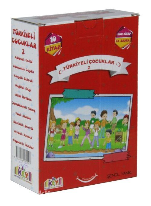 Türkiyeli Çocuklar Set 2 (10 Kitap+Değerlendirme Testi )