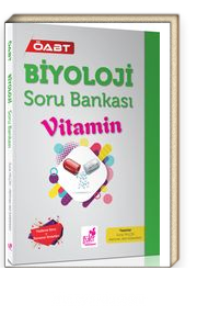 ÖABT Biyoloji Soru Bankası Vitamin