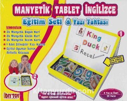 Manyetik Tablet İngilizce Eğitim Seti - Yazı Tahtası
