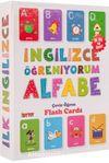 İngilizce Öğreniyorum Alfabe (Eğitici Flash Card)