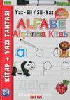 Alfabe Alıştırma Kitabı (Yaz – Sil / Sil – Yaz)
