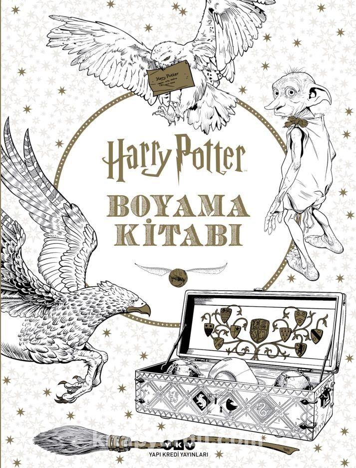 Harry Potter Boyama Kitabi Hazel Bilgen Kitapyurdu Com