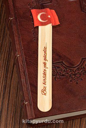 Bambu Çubuk Ayraç - Bayrak