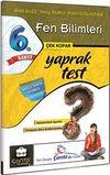 6. Sınıf Fen Bilimleri Çek Kopar Yaprak Test