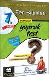 7. Sınıf Fen Bilimleri Çek Kopar Yaprak Test