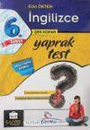 6. Sınıf İngilizce Çek Kopar Yaprak Test