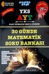 YKS-AYT 30 Günde Matematik Soru Bankası