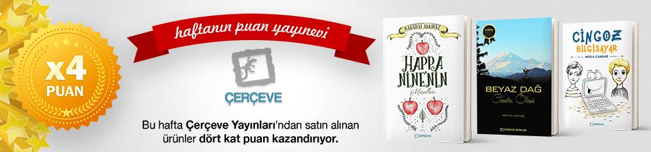 Çerçeve Yayınları'ndan 4 kat Ekstra Puan Kampanyası