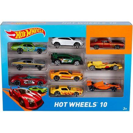 Hotweels 10'lu Metal Araba (54886)