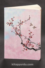 Akıl Defteri - Dokun ve Hisset Serisi Japon Kiraz Çiçeği (Cep Boy)