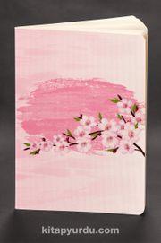 Akıl Defteri - Dokun ve Hisset Serisi Kiraz Çiçekleri Pembe (Cep Boy)