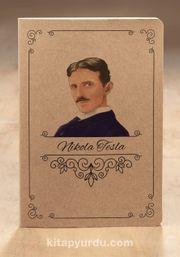 Akıl Defteri - Naturel Kraft Serisi Nikola Tesla (Cep Boy)