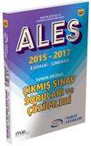 ALES 2015 2017 İlkbahar-Son Bahar Tamamı Orijinal Çıkmış Sınav Soruları ve Çözümleri