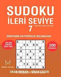 Sudoku İleri Seviye 7Profesyoneller İçin