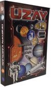 Uzay 4D Artırılmış Gerçeklik Kartları