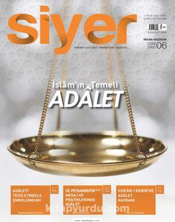 Siyer 3 Aylık İlim Tarih ve Kültür Dergisi Sayı:6 Nisan-Mayıs-Haziran 2018
