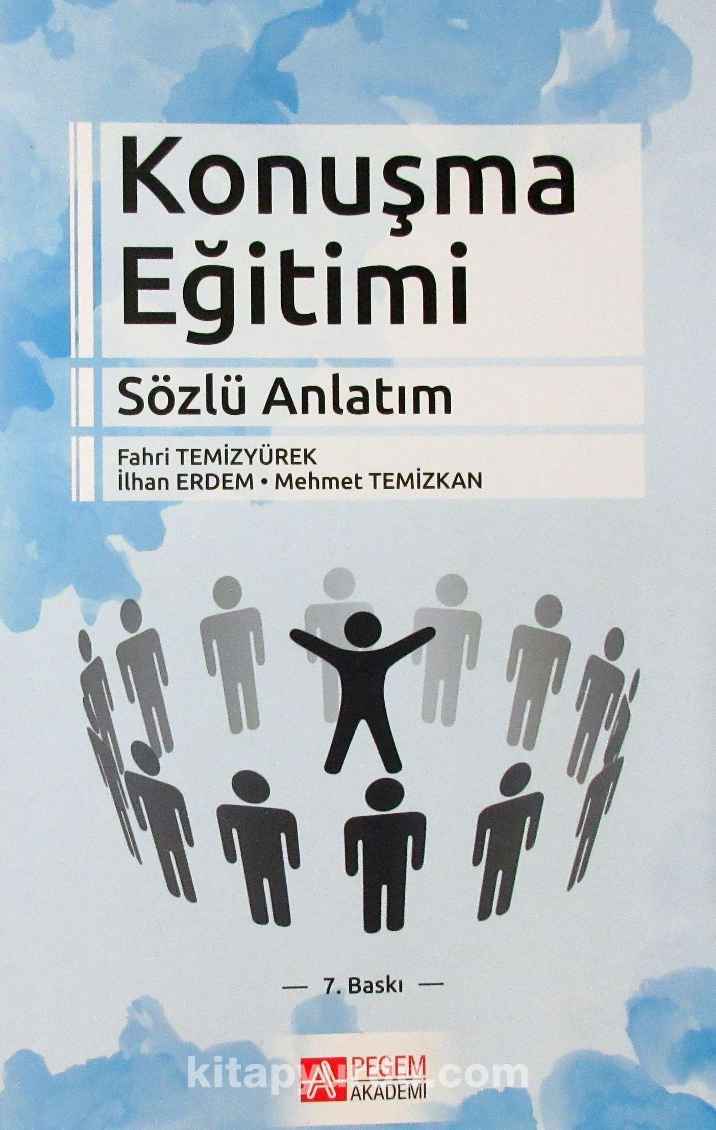 Konuşma Eğitimi (Sözlü Anlatım) - Yrd. Doç. Dr. Fahri Temizyürek pdf epub