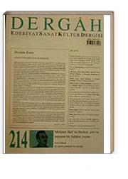 Aralık 2007, Sayı 214, Cilt XVIII / Dergah Edebiyat Sanat Kültür Dergisi