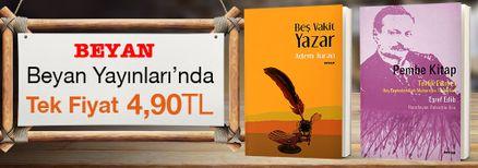Beyan Yayınları'nda Tek Fiyat 4,90 TL Kampanyası