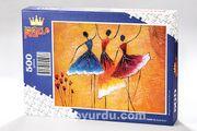 Balerinler Ahşap Puzzle 500 Parça (DM02-D)