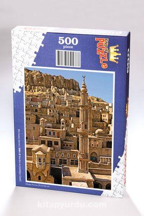 Mardin ve Şehidiye Camii Ahşap Puzzle 500 Parça (DI04-D)
