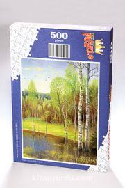 Göldeki Kavaklar Ahşap Puzzle 500 Parça (DG04-D)
