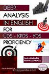 Deep Analysis in English For Üds-Kpds-Yds Proficiency