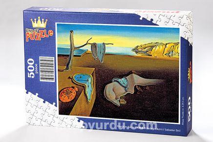 Belleğin Azmi - Salvador Dali Ahşap Puzzle 500 Parça (KR08-D)