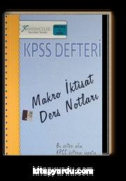 2013 A Grubu KPSS Defteri Makro İktisat Ders Notları